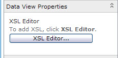 SharePoint Edit XSl Button